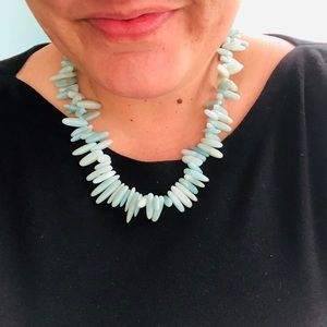 Gorgeous turquoise colored necklace